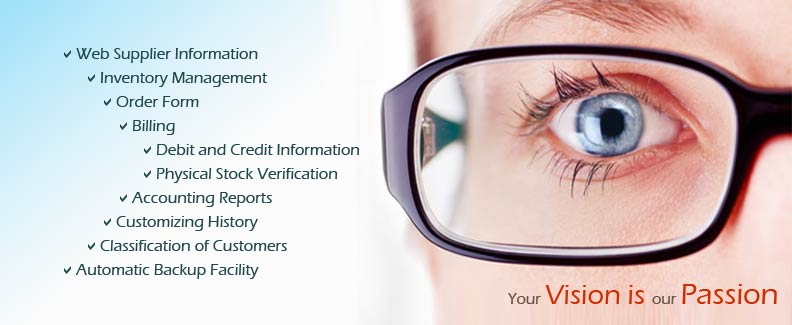 OPTICAL SHOP MANAGEMENt - What is invoice processing online glasses store
